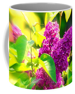 Coffee Mug featuring the photograph Lilacs by Susanne Van Hulst