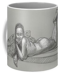 Liliana Reclining Coffee Mug by Donelli  DiMaria