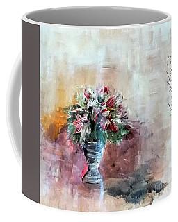 Lilies And A Blanket Painting Coffee Mug