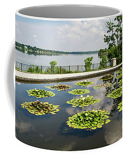 Lilies And The Lake Coffee Mug