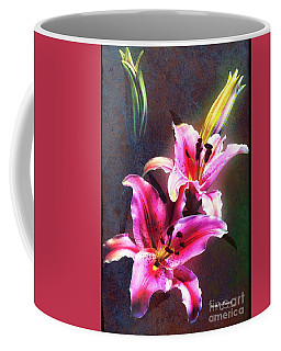 Lilies At Night Coffee Mug