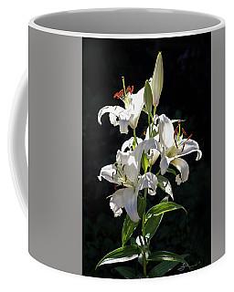 Lilies In The Sun Coffee Mug