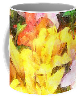 Lilies Love And Light Coffee Mug