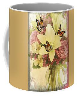 Lililies And Roses Coffee Mug