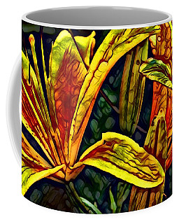 Lilly Fire Coffee Mug