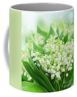 lilly of the Valley II Coffee Mug by Anastasy Yarmolovich