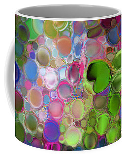 Coffee Mug featuring the digital art Lilly Pond by Loxi Sibley