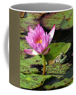 Lily And The Bullfrog Coffee Mug