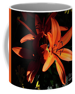 Lily In Orange Coffee Mug
