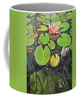 Lily In The Water Coffee Mug