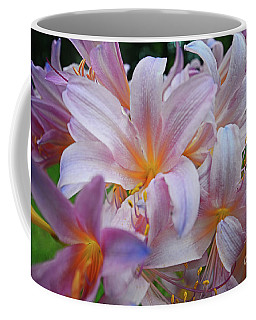 Lily Lavender Closeup Coffee Mug
