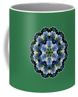 Lily Medallion Coffee Mug