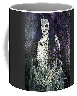 Coffee Mug featuring the digital art Lily Munster by Absinthe Art By Michelle LeAnn Scott