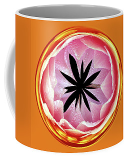 Coffee Mug featuring the photograph Lily Orb by Bill Barber