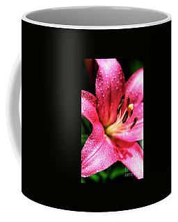 Lily With Dew Coffee Mug