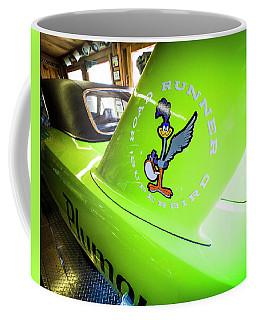 Lime Green Superbird Coffee Mug