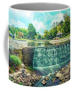 Lime Kiln Park Waterfall Coffee Mug