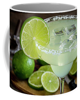Lime Margarita Drink Coffee Mug by Teri Virbickis