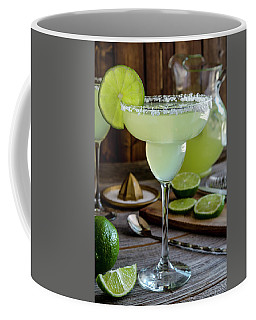 Lime Margaritas Coffee Mug by Teri Virbickis