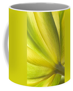Lime Tulip Coffee Mug