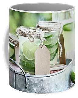 Limeade In Mason Jars Coffee Mug