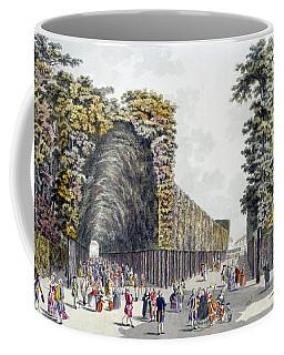 Limegrove Walk, Augarten, Vienna, 1790s Coffee Mug