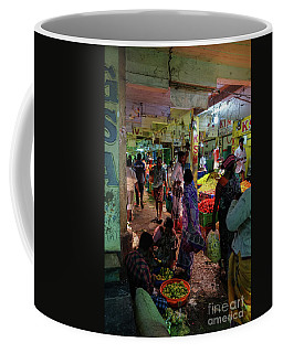 Coffee Mug featuring the photograph Limes For Sale by Mike Reid