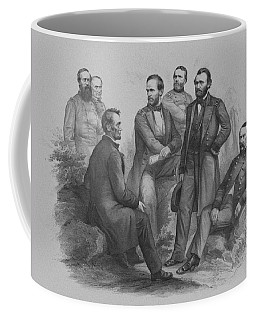 Lincoln And His Generals Coffee Mug