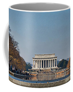 Lincoln From Afar Coffee Mug