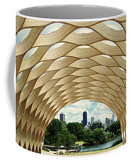 Lincoln Park Zoo Nature Boardwalk Panorama Coffee Mug