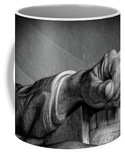 Lincoln's Left Hand B-w Coffee Mug