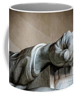 Lincoln's Left Hand Coffee Mug