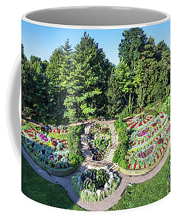 Lincoln's Sunken Gardens Coffee Mug