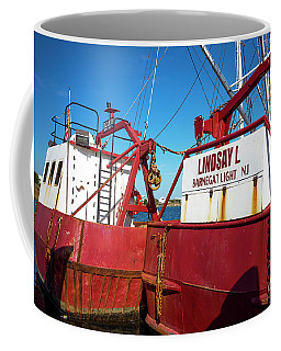 Coffee Mug featuring the photograph Lindsay L Red by John Rizzuto