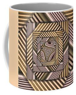 Line Geometry Coffee Mug