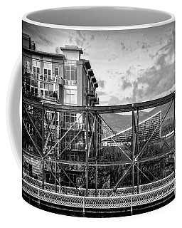 Lines And Angles In Black And White Coffee Mug