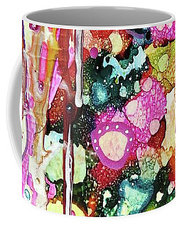 Lines And Bubbles Coffee Mug by Desiree Paquette
