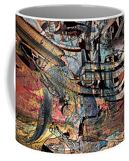 Lines And Colors Coffee Mug by Don Gradner