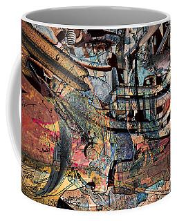 Lines And Colors Coffee Mug