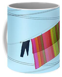 Lines In The Sky Coffee Mug