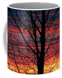 Lines Coffee Mug by Janice Westerberg