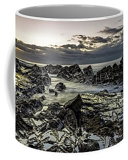 Lines Of Time Coffee Mug by Mark Lucey
