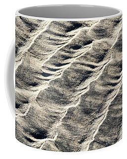 Lines On The Beach Coffee Mug