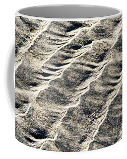 Lines On The Beach Coffee Mug