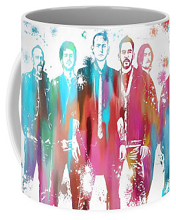 Linkin Park Watercolor Paint Splatter Coffee Mug