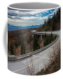 Linn Cove Viaduct Late Fall Coffee Mug