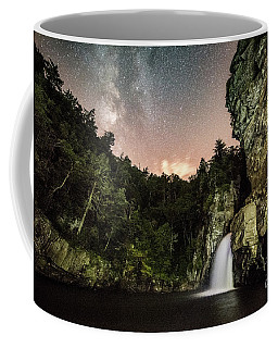 Linville Falls And The Milky Way Coffee Mug