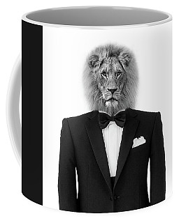 Lion-abstract Coffee Mug