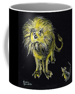 Lion And The Mouse Coffee Mug