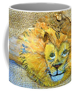 Lion Coffee Mug by Ann Michelle Swadener